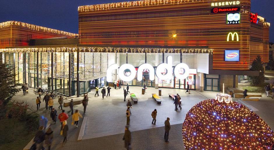 Centrum handlowe Rondo w świątecznym wydaniu