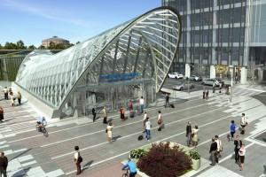Nowy Dworzec Warszawa Zachodnia na starcie