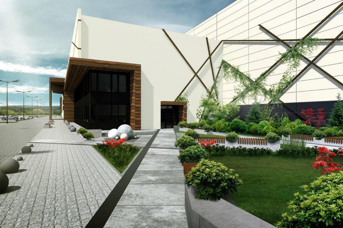 Skanska zaprojektowała, a teraz buduje centrum targowe w Bydgoszczy