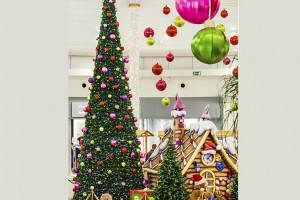 Tak wygląda CH Janki w świątecznym wydaniu