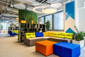W biurach kolorystyka ma wielkie znaczenie