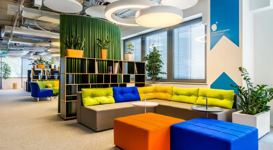 Strefa relaksu jest najważniejszym miejscem w biurze