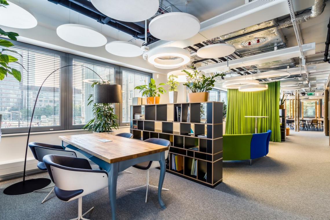 Biura konkurują designem w walce o pracowników