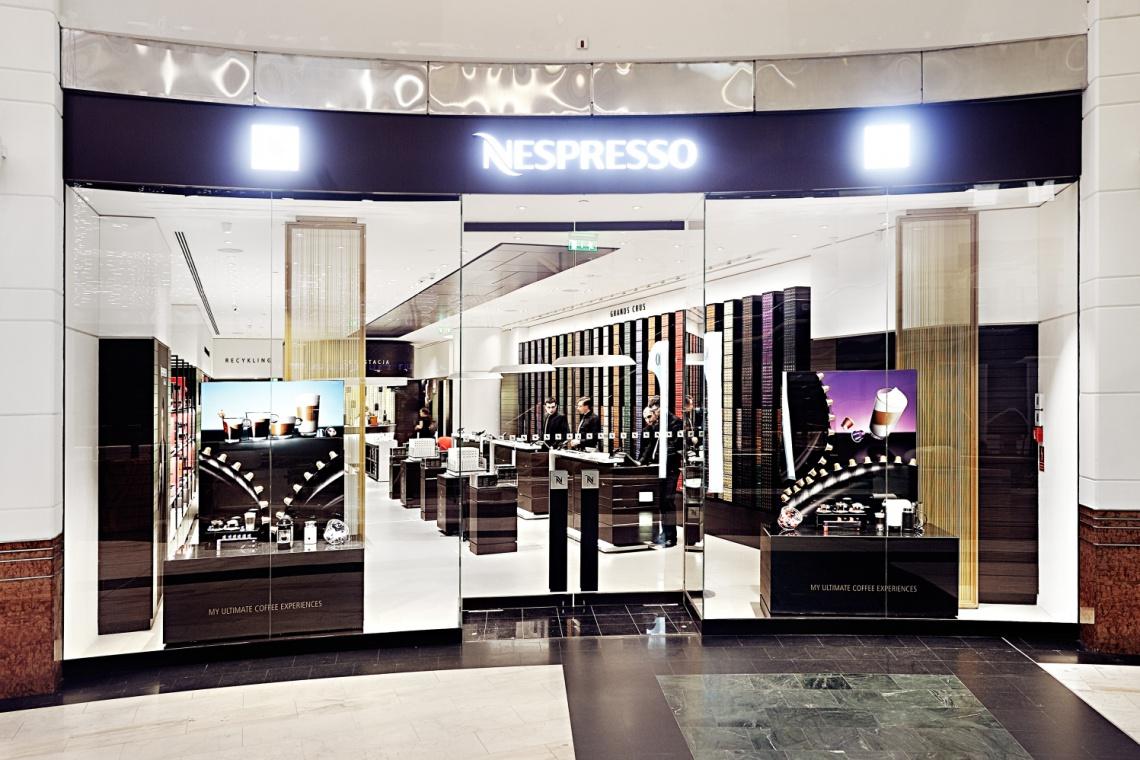 Nowy butik Nespresso wyróżnia elegancja i nowoczesność