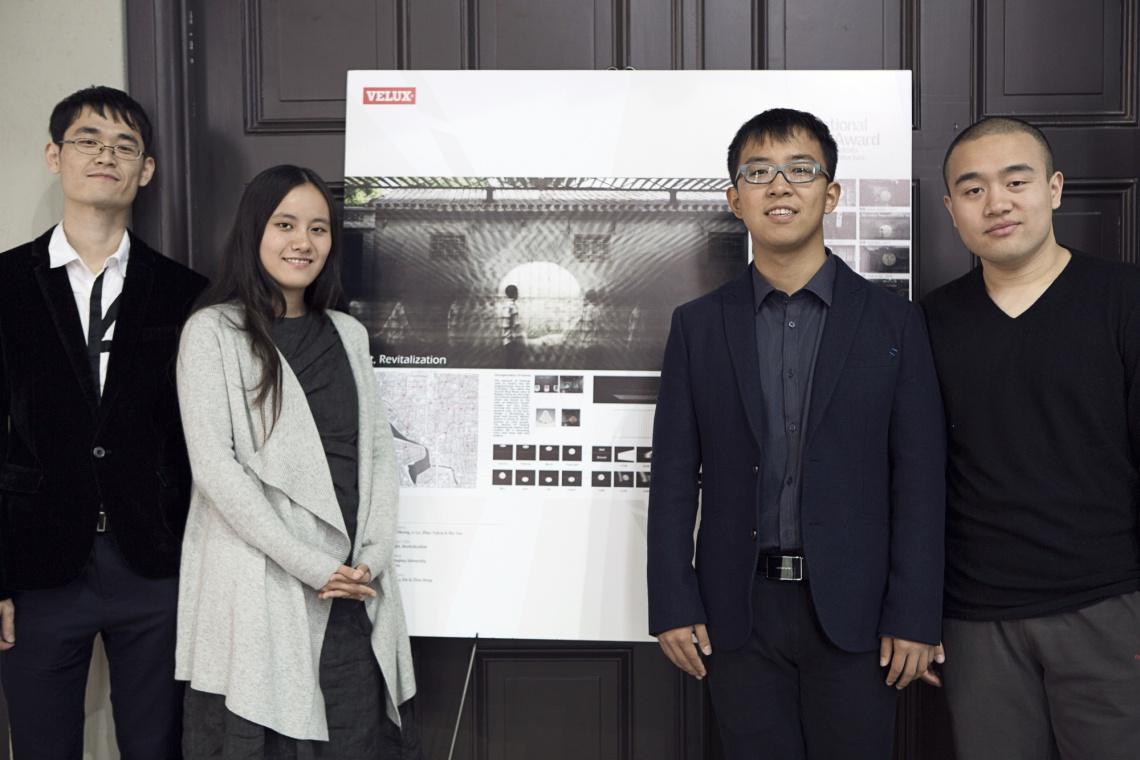 Pierwsza nagroda w International Velux Award 2014 dla Chińczyków