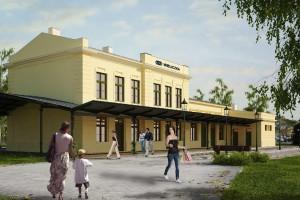 Nowy dworzec w Wieliczce z opóźnieniem