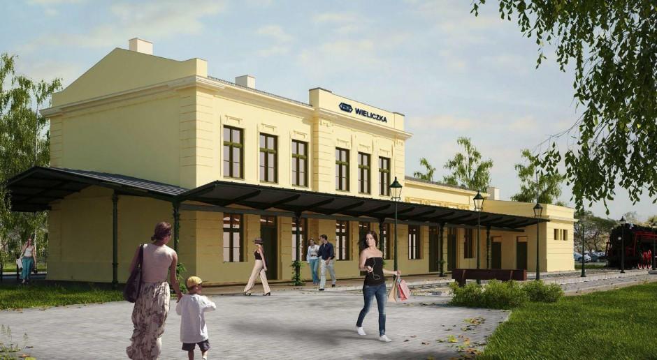 PKP ma wykonawcę przebudowy dworca w Wieliczce