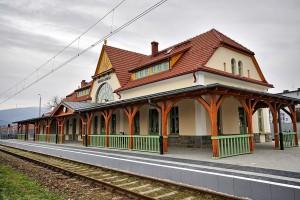 Tak wygląda teraz dworzec w Rabce – Zdroju