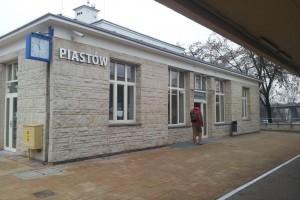 Dworzec w Piastowie w nowej odsłonie
