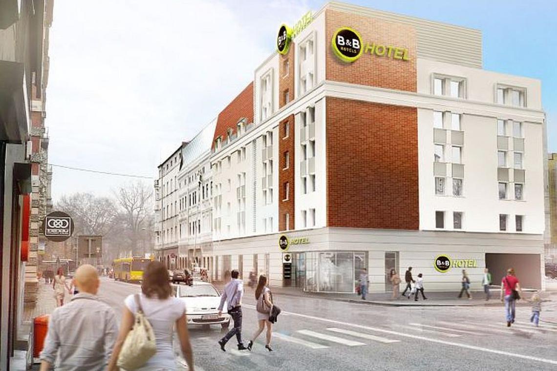 Projekt hotelu B&B pracowni Arbapol to powiew nowoczesności