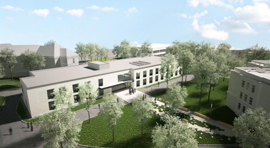 CH2 Architekci zaprojektowali nowy pawilon Szpitala Wolskiego w Warszawie