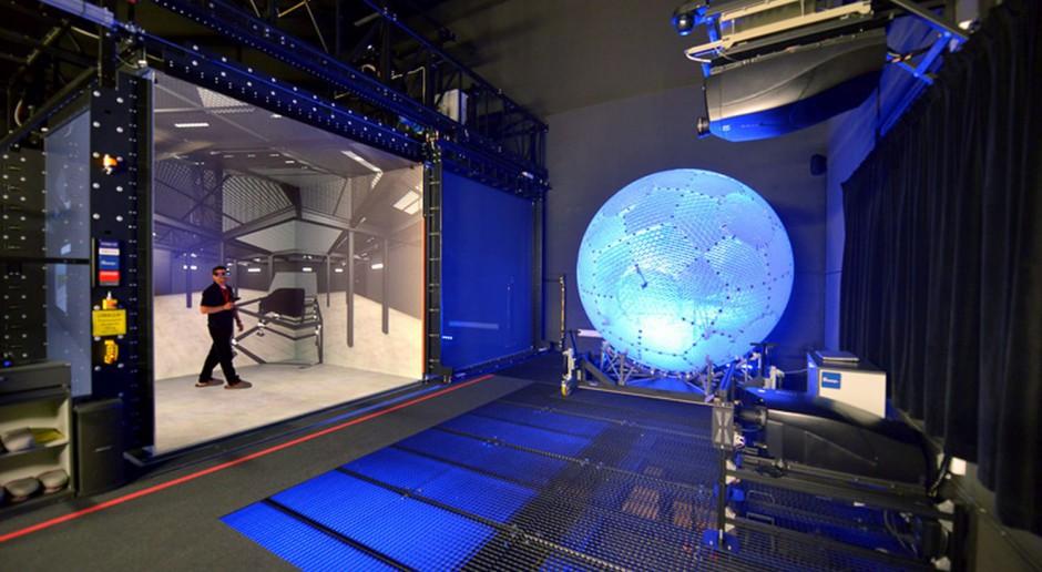 Unikatowe w skali światowej Laboratorium Zanurzonej Wizualizacji Przestrzennej