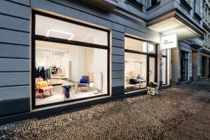 No Wódka w Berlinie - butik projektu Kontent Architecture