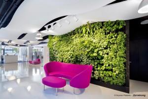 Sufity podwieszane dla zielonych budynków