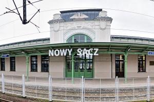 Tak wygląda teraz dworzec w Nowym Sączu