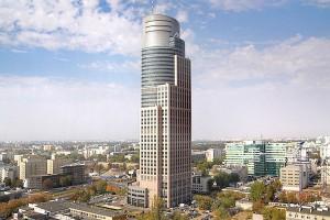Warsaw Trade Tower goni nowoczesne biurowce na Woli