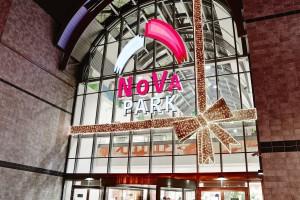Świąteczna galeria Nova Park w Gorzowie Wielkopolskim