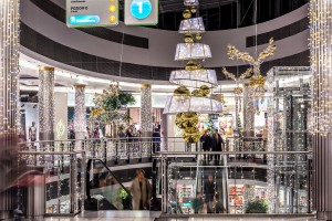 TOP 10 galerii handlowych w bajkowej, świątecznej odsłonie