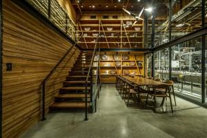 Innowacyjna kawiarnia Starbucks z designerskim wnętrzem