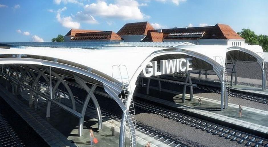 Likwidują bariery architektoniczne na dworcu w Gliwicach