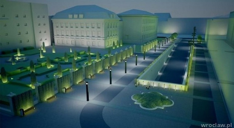 Więcej przestrzeni dla pieszych wokół Narodowego Forum Muzyki