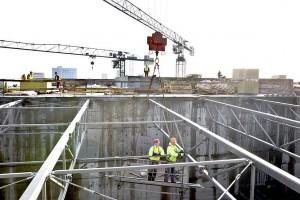 Ruszają prace elewacyjne przy łódzkiej Sukcesji
