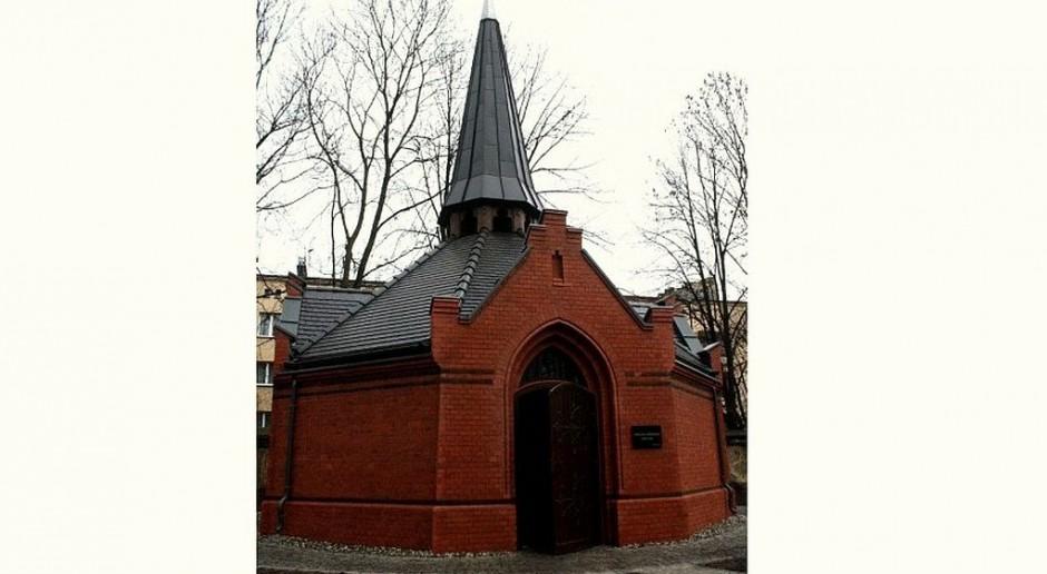 Kaplica Gallich w Gliwicach odzyskała neogotycki wygląd