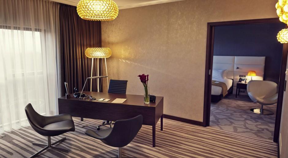 Oto wnętrze dla prezydenta w DoubleTree by Hilton Łódź