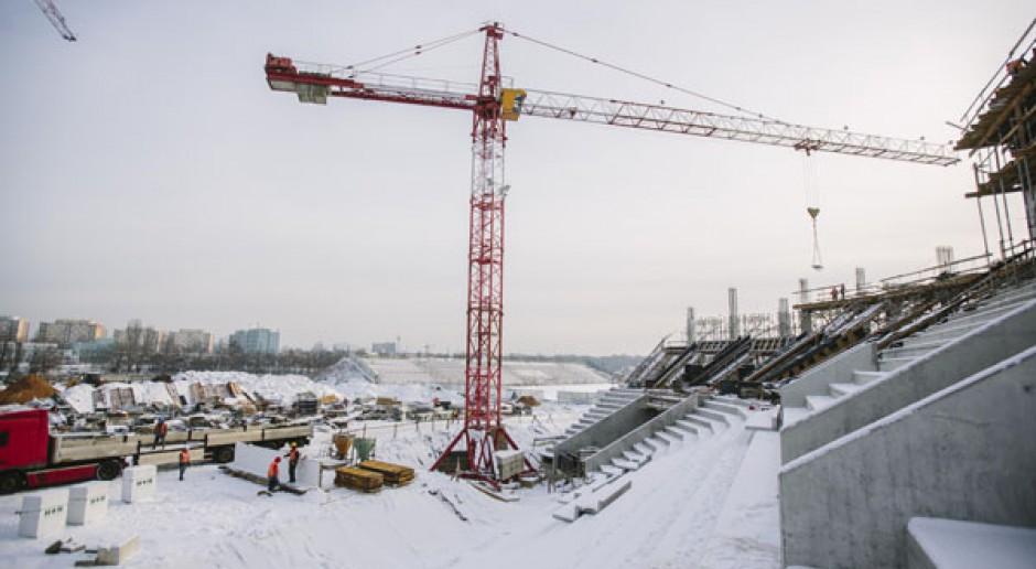 Najnowsze wieści z budowy stadionu miejskiego w Łodzi