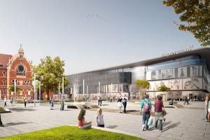 Katowicki Supersam projektu Konior Studio zostanie otwarty jesienią