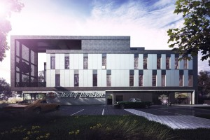 Q2Studio zaprojektowali salon kultowego Harleya Davidsona