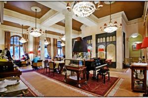 Stylowe wnętrza Hotelu Rezydent w Sopocie