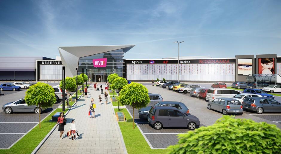 Rusza budowa centrum handlowo-usługowego VIVO! Krosno