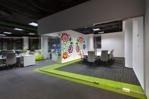 Inspirujące biuro Groupon projektu JMP Service