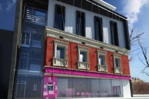 Trwa budowa nowego biurowca w Krakowie