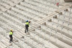 Tak powstaje stadion w Tychach