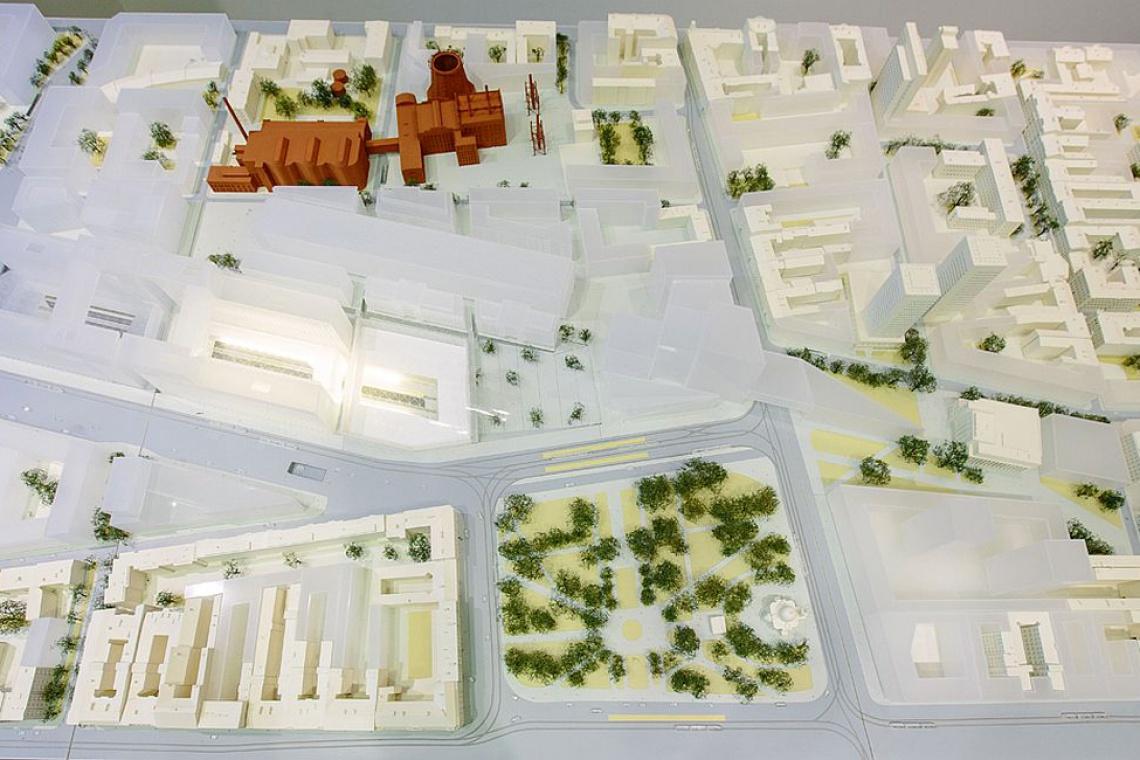 Zobacz trzymetrową makietę Nowego Centrum Łodzi