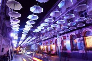 Uliczkę Braci Philips ozdobią rozświetlone parasole
