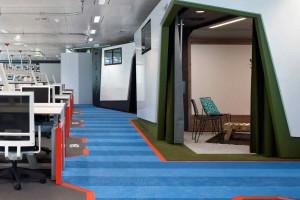 Tak wygląda biuro inżynierów Google w Wielkiej Brytanii