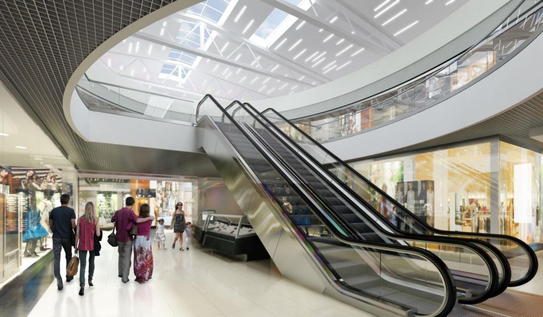 Atrium w kształcie elipsy - nowe oblicze Panoramy od Bieniasz Nicholson