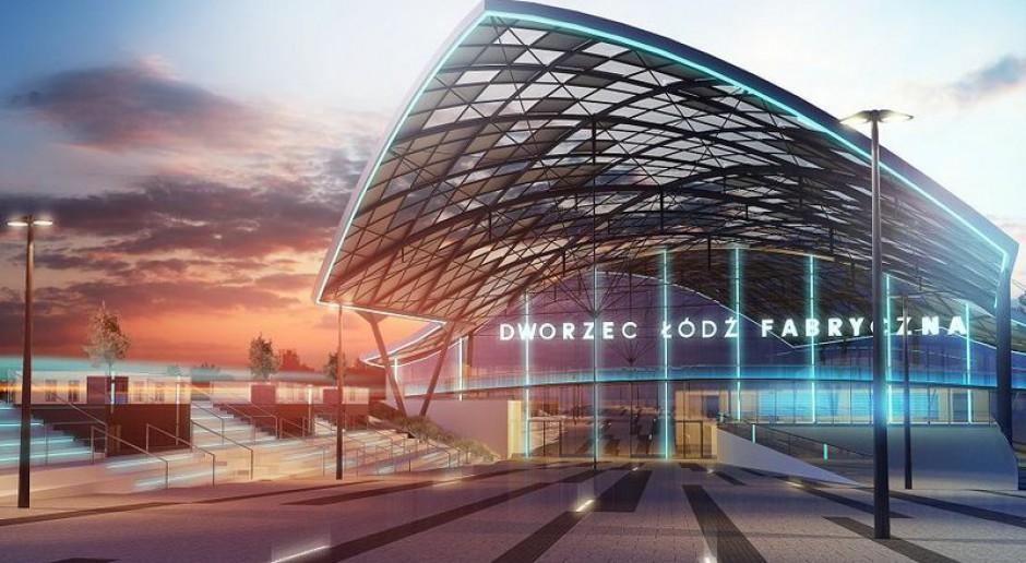 Dworzec Łódź Fabryczna wkracza w ostatnią fazę i nabiera kształtów