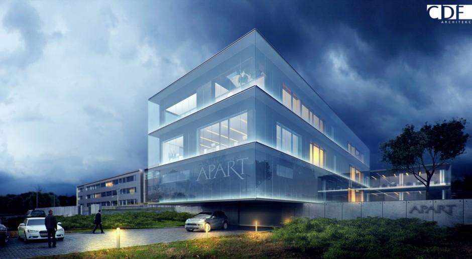 CDF Architekci zaprojektowali rozbudowę siedziby Apart