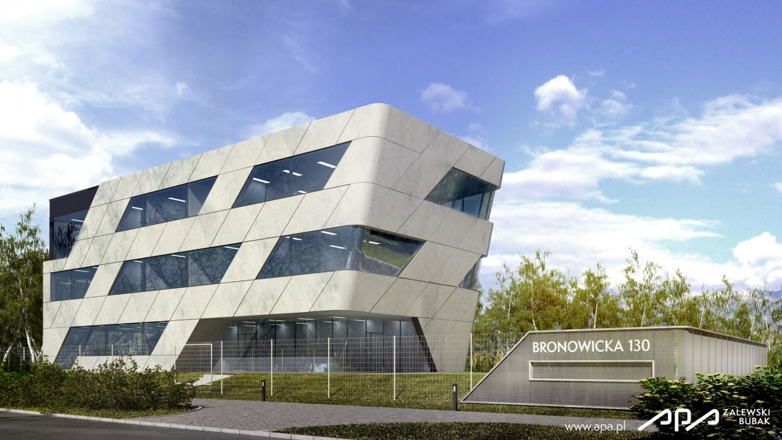 Biurowiec Bronowicka B.O.A.T. zaprojektowali APA Zalewski Bubak