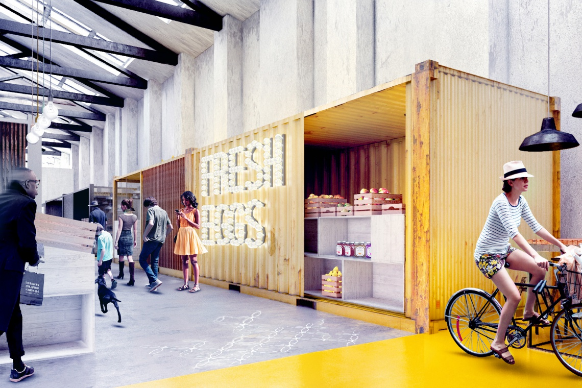 Moomoo Architects stworzyli projekt unikalnego Food Boutique