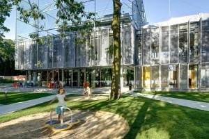 W starą tkankę wkomponowali nowoczesne centrum - Fala Park