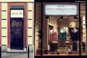 Eleganckie wnętrze i stylowe garnitury - 370studio dla marki Mercer