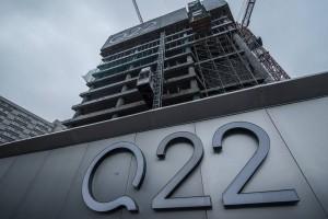 Najnowsze zdjęcia z budowy biurowca Q22