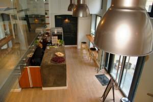 Industrialny charakter Naszej Kuchni według projektu InDesign