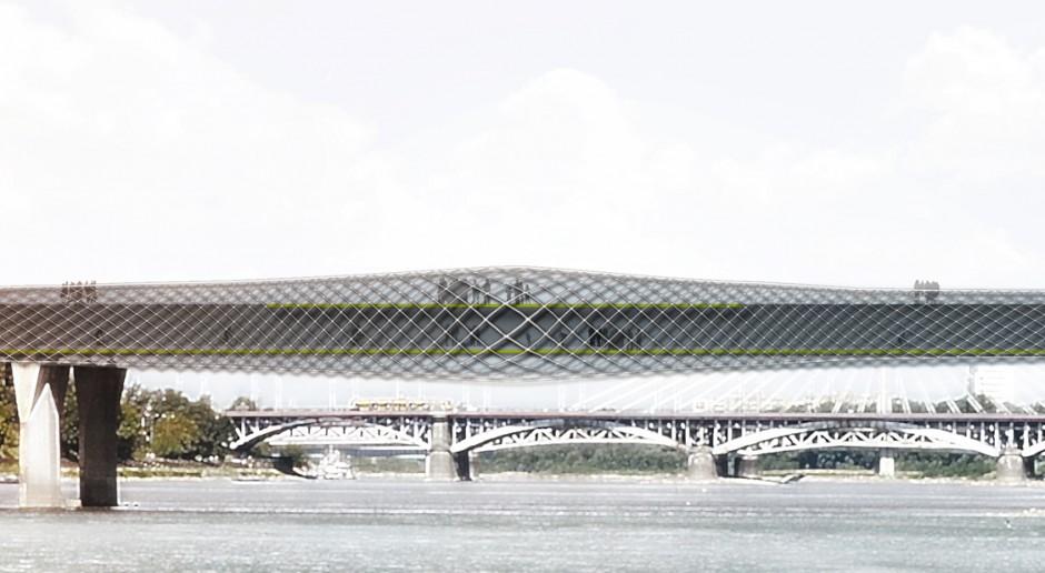Cztery firmy chcą odbudować Most Łazienkowski w Warszawie