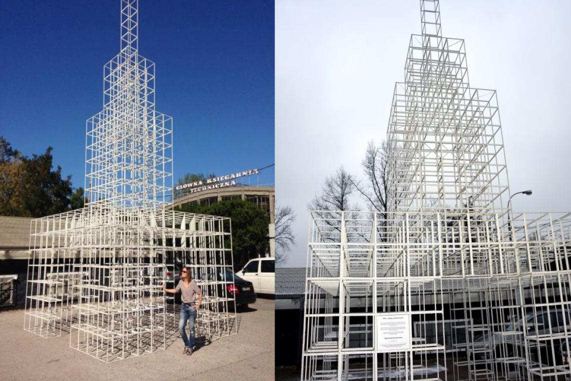 Mniejszy Pałac Kultury i Nauki na warszawskiej Pradze